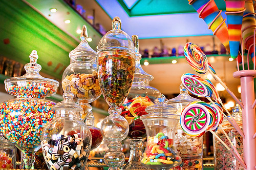 Candy at Honeydukes
