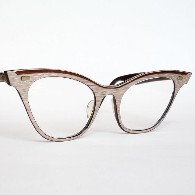 Wood Grain Horn Rimmed Cat Eye Glasses Flickr - Photo ...