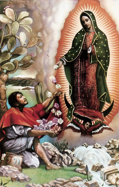 Saint Juan Diego and Our Lady