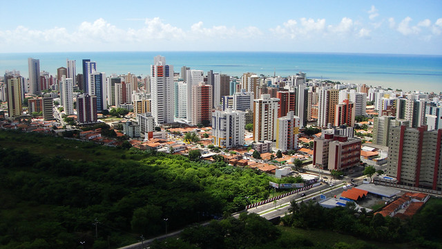 Entre o céu o verde e o mar (João Pessoa - Paraíba - Brasil)