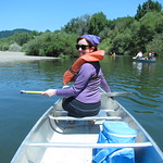 Canoeing on the Russian River