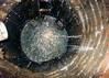 Infiltration thru manhole wall