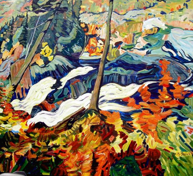 Jeh macdonald s paintings