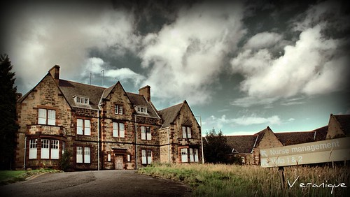 Villa 1 and 2 Bangour Asylum, abandoned, Scotland:(