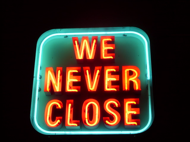 Neon sign at Norm's Restaurant - Van Nuys, CA