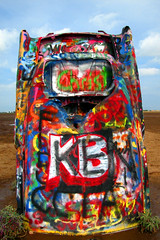 Amarillo, TX: Cadillac Ranch