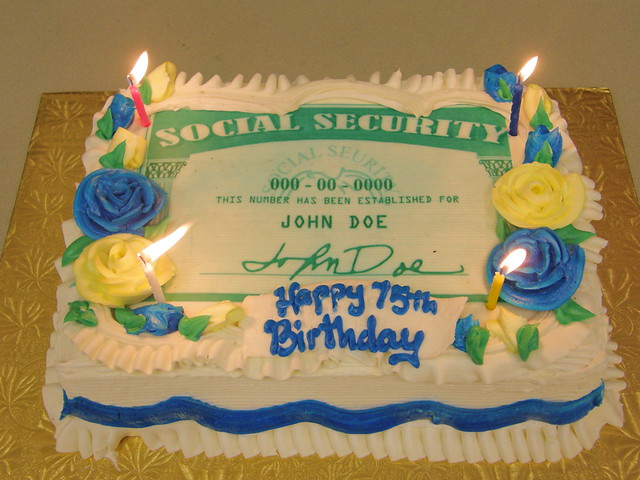 75th birthday of social security flickr photo sharing for 75th birthday decoration