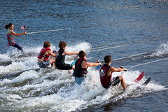 U.S. Water Ski Show Team - Scotia, NY - 10, Aug - 02 by sebastien.barre