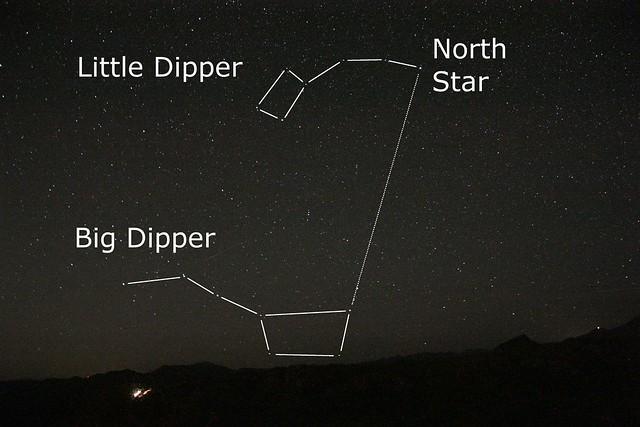 astronomy big dipper north - photo #11
