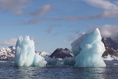 ocean cruise blue ice expedition topf25 norway landscape svalbard fjord spitsbergen vestre icebergs arcticcircle zodiacs polarstar 10faves 25faves johndalkin heavensgatejohn mywinners burgerbukta blueicepeaks