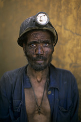 Coal Miner, Pul i Khumri, Afghanistan, 2002, by Steve McCurry