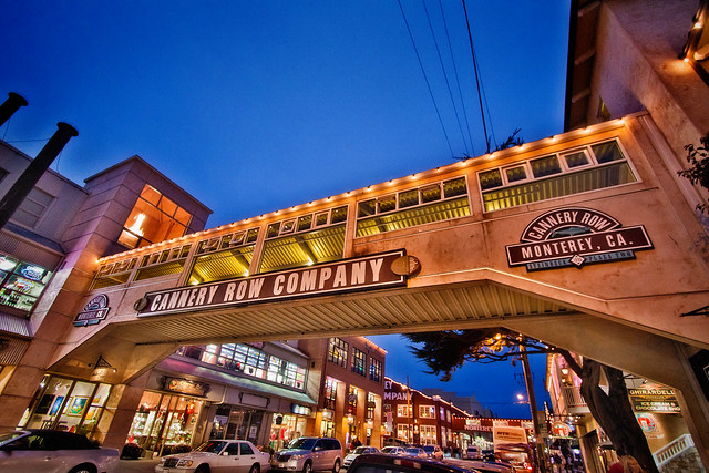 Cannery Row in Monterey, CA