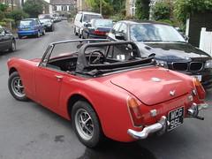 sunbeam tiger(0.0), tvr(0.0), automobile(1.0), vehicle(1.0), datsun roadster(1.0), antique car(1.0), austin-healey sprite(1.0), classic car(1.0), land vehicle(1.0), convertible(1.0), sports car(1.0),