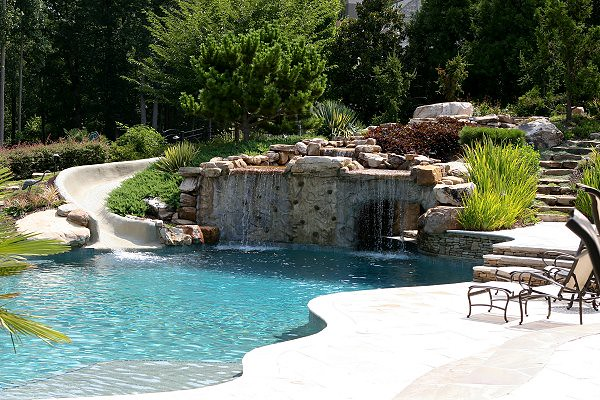 Gcp strand 26 flickr photo sharing for Luxury pools with waterfalls