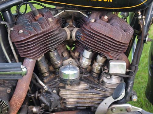 Harley Davidson Motorbike Engine