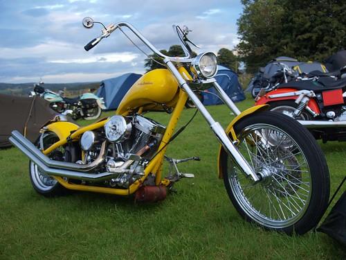 Custom Harley Davidson Chopper - 1999