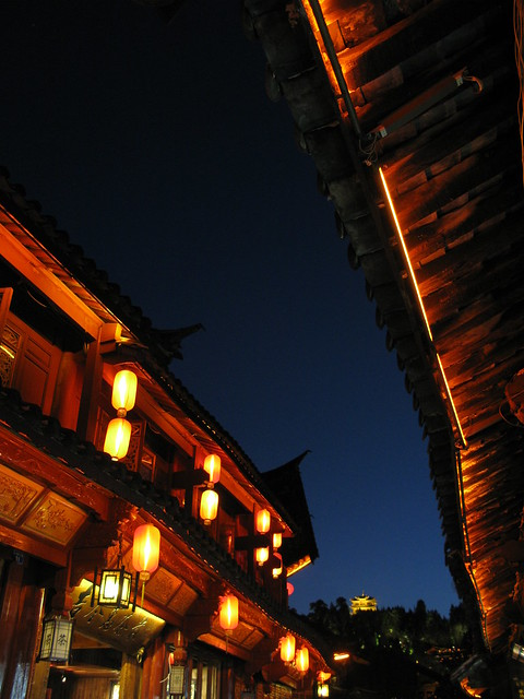 Old town at night - Lijiang, China