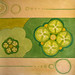 Green Tomato Jam food painting for the vegetarian recipes cookbook by Australian artist Fiona Morgan