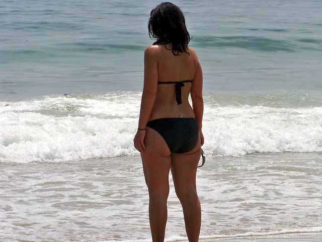 Pawg at Beach