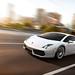 Tearing up Flinders Street Bridge - Lamborghini Gallardo LP560-4 - CG by Troy Witte Photography