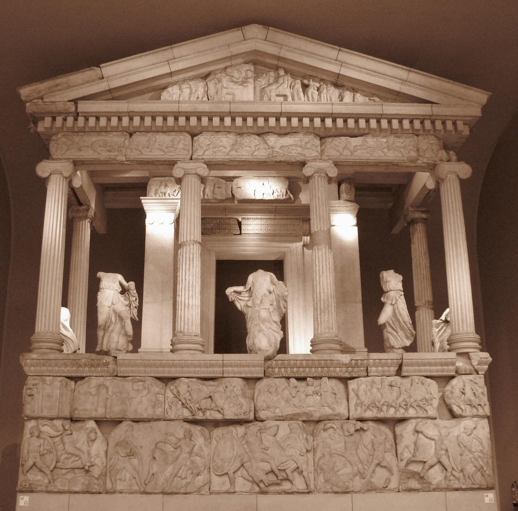 The Nereid Monument (390-380 BC)