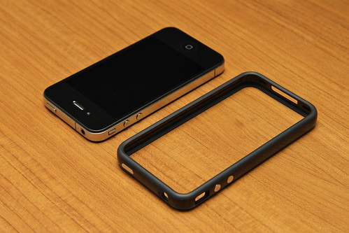 IPhone 4 32GB Black With Bumper It Also Improves The Signal Quality By Isolating Antenna From Hand
