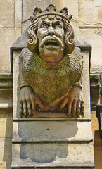 Grotesque on St Chad's Church, Rochdale