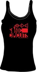 sports uniform(0.0), sleeve(0.0), shirt(0.0), brand(0.0), t-shirt(0.0), clothing(1.0), sleeveless shirt(1.0), outerwear(1.0), font(1.0), black(1.0),