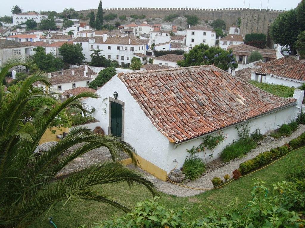 Obidos wall view