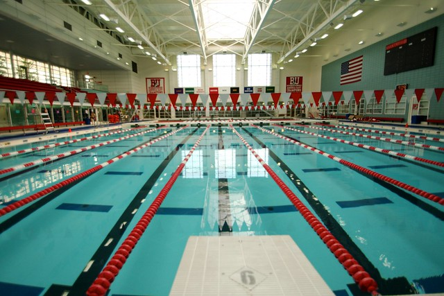 bu competition pool the boston university fitness recrea flickr photo sharing