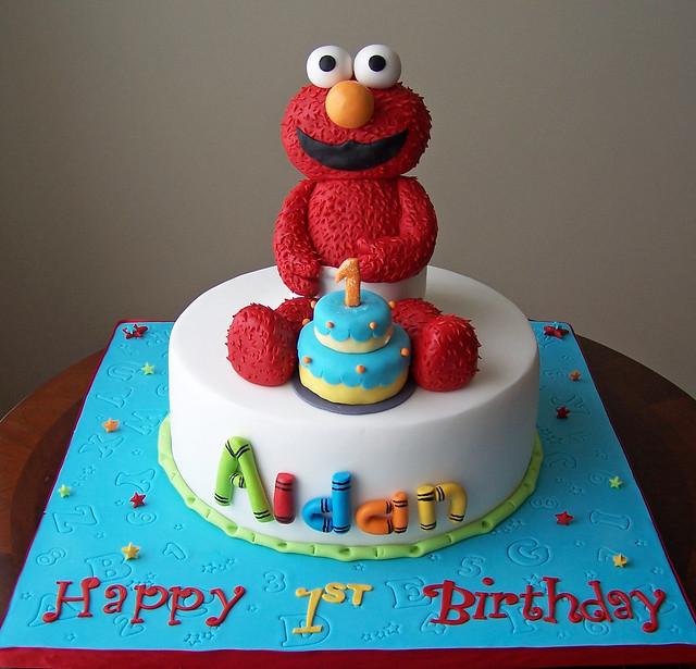 Elmo Cake Design Ideas : Elmo Cake Flickr - Photo Sharing!