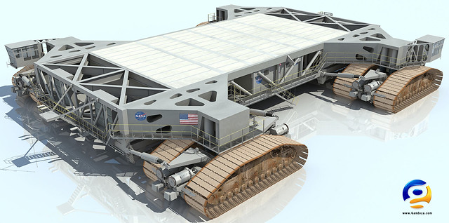 space shuttle transporter crawler cab-#34