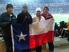 Highland Park Girls with Texas flag