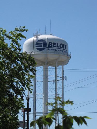 Beloit, Wisconsin Watertower