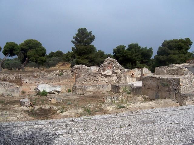 Roman Bath House, Ancient Isthmia