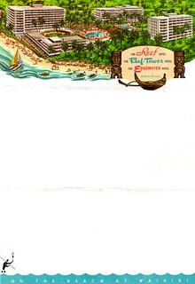 Vintage Hawaiian Hotel Stationery