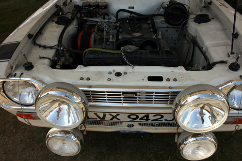 Ford Escort Mk1 RS1600 Rally Car Twin Cam Engine