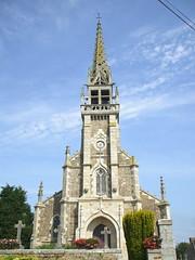 Brélidy church
