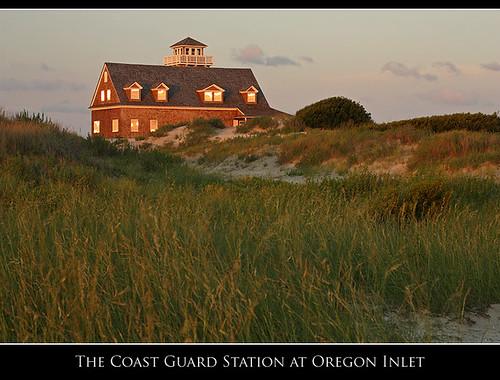 beach coast nc northcarolina outerbanks obx coastguardstation oregoninlet