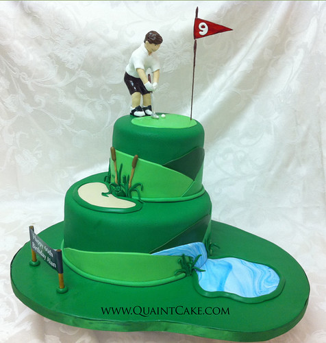 Golf Themed Cake Images : 1000+ images about Golf Cakes on Pinterest
