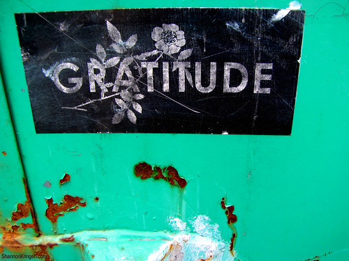 gratitude and rust