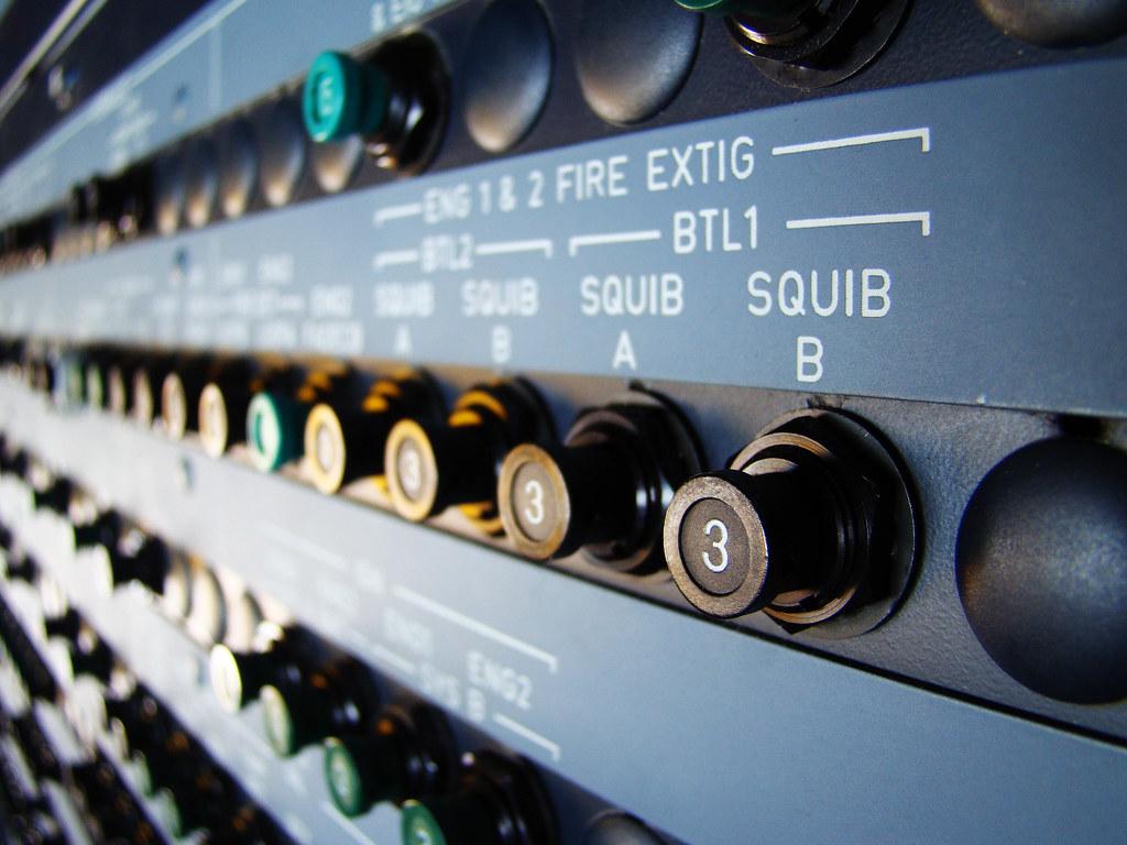 Airbus circuit breakers