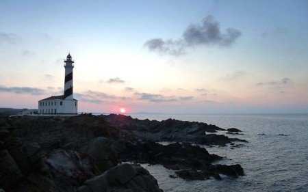 Faro Favaritx Lighthouse Sunset