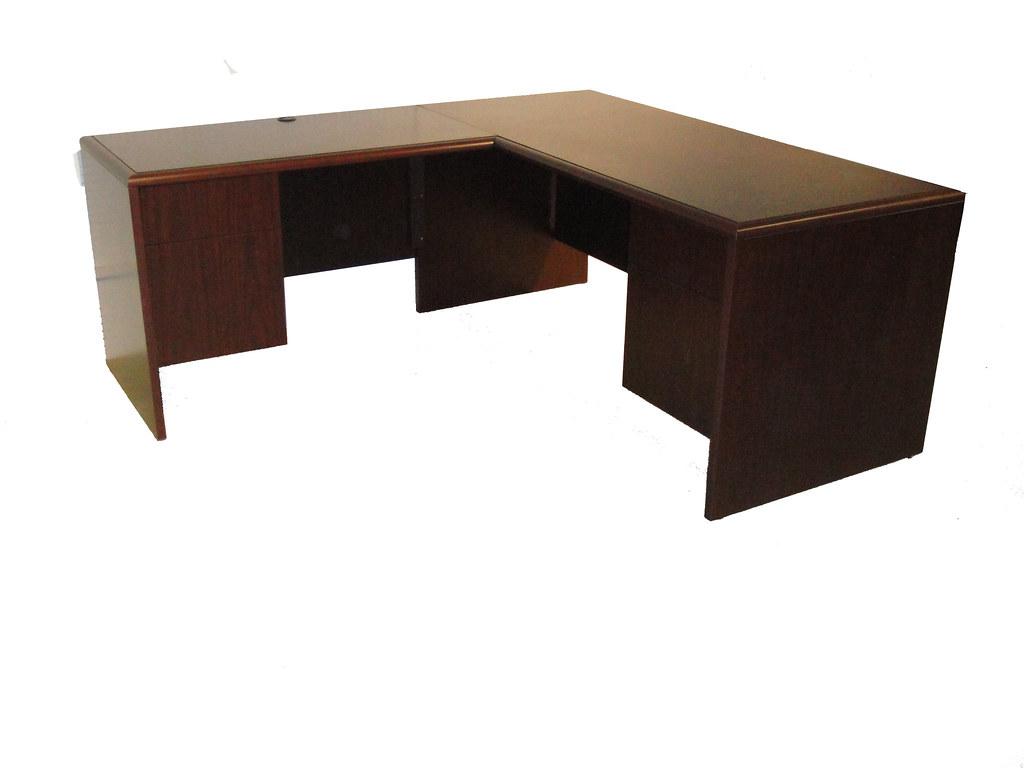 Furniture l shape desk shape desk addison furniture miami for Furniture bank seattle