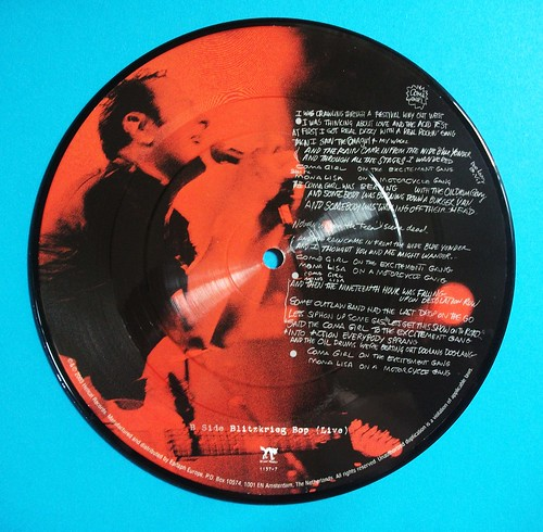 "Joe Strummer 7"" picture disc. Blitzkrieg Bop. 2003 by Ledlon89"