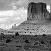 Scenes from the Old West - Monument Valley in Black & White