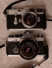Leica M3 vs Olympus OM-2n