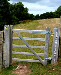 outdoor structure(0.0), home fencing(0.0), picket fence(0.0), fence(1.0), split rail fence(1.0), gate(1.0),