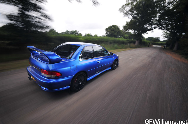 Subaru Impreza P1. 562bhp.
