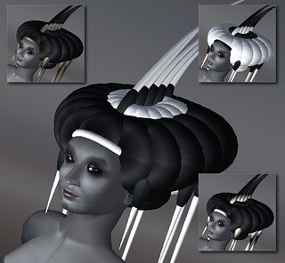 Pillow headdress